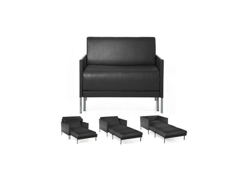 fauteuil convertible 1 place club 84 contemporain et design. Black Bedroom Furniture Sets. Home Design Ideas