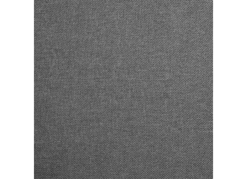 Accoudoirs LARGES amovibles pour fauteuil et canapé convertible Likoolis - tissu gris clair